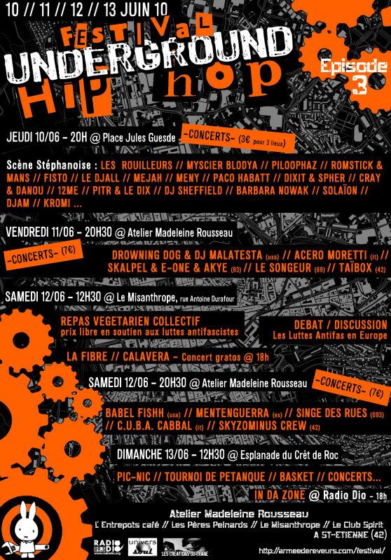 VidéO FESTIVAL HIP-HOP SAINTé #3 -JOUR1-