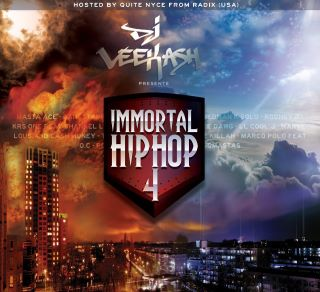 DJ Veekash présente  IMMORTAL HIPHOP vol4