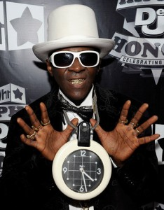 Flavor Flav du groupe Public Enemy